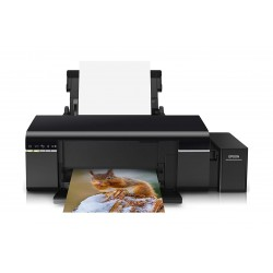 Epson L805 Single-Function Wireless Ink Tank Color Photo Printer - Black