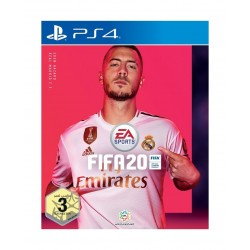 PS4 Dual Shock 4 Controller + PS4 FIFA 20 Standard Game