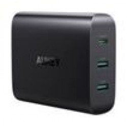 Aukey 2-Port USB Charging Station with 72W Power