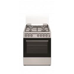 طباخ الغاز فريجو ٤ شعلة ٦٠ × ٦٠ سم (FG6060SST) - فضي