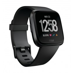 Fitbit Unisex Versa Health and Fitness Smartwatch (FB505GMBK) - Black