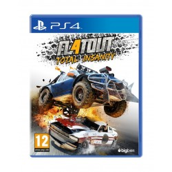 Flatout 4: Total Insanity – Playstation 4 Game Cover