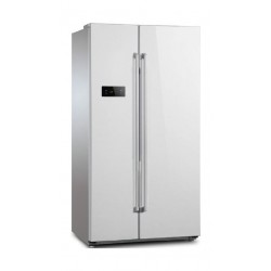 Frego 20.7 CFT Side by Side Refrigerator (FR-600-W2IWD) - White