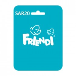بطاقة فرندي أكوا - ٢٠ ريال
