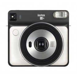 الكاميرا الفورية والمربعة الشكل من فوجي فيلم SQ6 - أبيض لؤلؤي