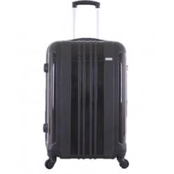 حقيبة السفر الصلبة جيوردانو - حجم وسط - أسود