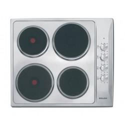طباخ كهربائي مسطح ٤ شعلة - بحجم ٦٠ سم - فضي من جليم - (P6LE0I)