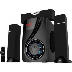 مكبر صوت وسائط متعددة ٣,١ قناة من جيباس - أسود (GMS8522)