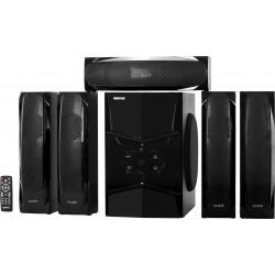 مكبر صوت وسائط متعددة ٥,١ قناة من جيباس - أسود (GMS8578)