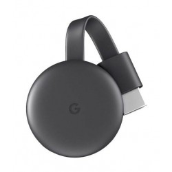 Google Chromecast 3.0 Streaming Media Player - Black