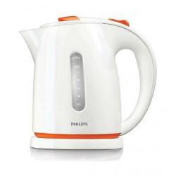 غلاية المياه الكهربائية بقوة ٢٤٠٠ واط من فيلبس - أبيض / برتقالي - (HD4646/5)