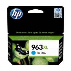 HP 963XL High Yield Original Ink Cartridge - Cyan