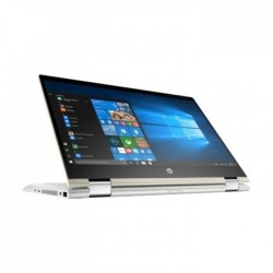HP Pavilion x360 Core i3 4GB RAM 1TB HDD 14-inch Touch Screen Convertible Laptop - Natural Silver