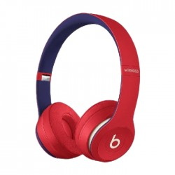 Beats Solo3 Wireless Headphones - Club Red