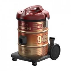 مكنسة كهربائية بسعة 18 لتر وقوة 2000 واط من هيتاشي (CV-945F SS220 WR)