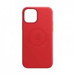 Apple iPhone 12 | 12 Pro Leather Case with MagSafe - Red