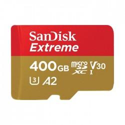 بطاقة الذاكرة سانديسك إكستريم - ٤ كي يو إتش إس-١ ميكرو إس دي إكس سي بسرعة ٩٠ ميجابايت / ثانية - سعة  ٤٠٠ جيجابايت