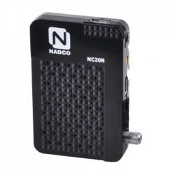 Nadco Mini Digital Satellite Receiver (NC20R)