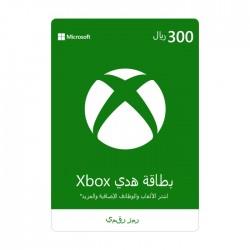 Xbox Live Membership Card - (300 SAR)