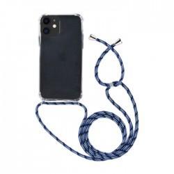 غطاء حماية أيفون 11 برو من اي كيو مع حزام أزرق