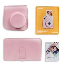 Fujifilm Instax Mini 11 Instant Film Camera Gift Box Pink in KSA | Buy Online – Xcite