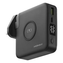 Momax 10000mAh 2 Ports Plug Portable PD Charger - Black