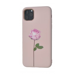 EQ iPhone 11 Pro Max Candy Silicone Print Back Case - F