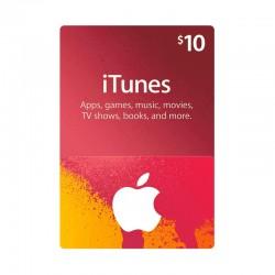بطاقة ايتونز ١٠ دولار (متجر أمريكي) - إرسال فوري للرمز