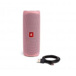 مكبرات الصوت جي بي إل فليب 5 المحمولة والمضادة للماء بتقنية البلوتوث – وردي