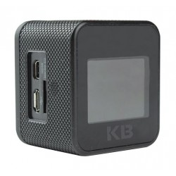 كاميرا الأكشن كايزر باس ٥ ميجا بيكسل كاملة الوضوح ١,٥ بوصة إل سي دي – أسود