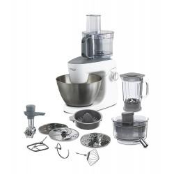 ماكينة مطبخ ملتي ون من كينوود – قوة ١٠٠٠ واط – سعة ٤.٣ لتر – فضي/أبيض (KHH326WH)