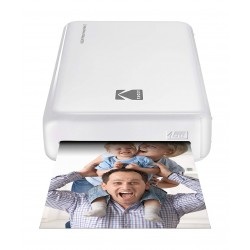 Kodak Mini 2 HD Wireless Portable Mobile Instant Photo Printer - White