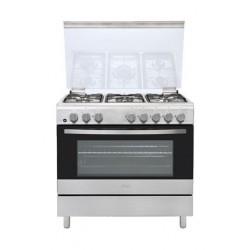 طباخ الغاز القائم من إل جي – ٩٠ × ٦٠ سم – ٥ شعلة (LF98V10S)
