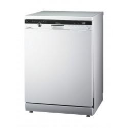 LG 4th Rack Inverter Dishwasher (D1464WF) - White