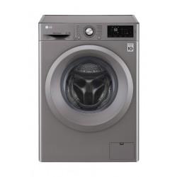 LG 7kg Front Load Washing Machine (WFC0712XM) - Silver
