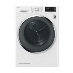 LG 9Kg Dual Inverter Dryer (RC90U2AV2E) - White