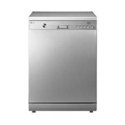 LG Dishwasher 14 Settings 6 Programs Free Standing (D1447WF) - Silver