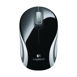 Logitech M187 Mini Wireless Mouse - Black