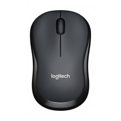 Logitech M220 Silent Wireless Mouse (910-004878) - Black