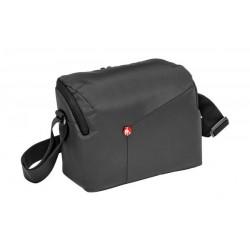حقيبة الكتف للكاميرات الرقمية دي إس إل آر من مانفروتو - رمادي