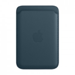 Apple iPhone Magsafe Leather Blue Wallet in Kuwait | Buy Online – Xcite