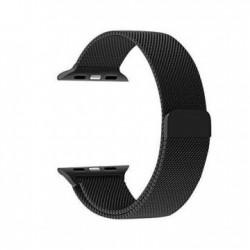 سوار ساعة آبل المغنطيسي مقاس ٤٢ ملم من بروميت - أسود