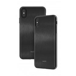 Moshi iGlaze iPhone XS Max Slim Hardshell Case - Armour Black