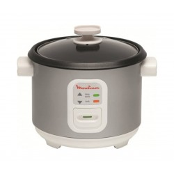 Moulinex Uno 10 Cups Rice Cooker ( MK111E27) - Grey