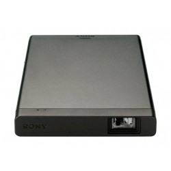 بروجيكتور سوني المحمول بتقنية الليزر مع بطارية ٣٤٠٠ ميللي أمبير بالساعة وعرض حتى ١٢٠ بوصة - واي فاي / إتش دي إم آي (MP-CL1)
