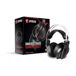 MSI GH60 Stainless Steel HI Res Audio Gaming Headset