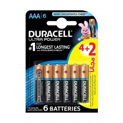 Duracell AAA Ultra Power Battery - 4+2 Batteries