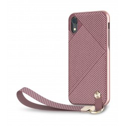 Moshi Altra Slim Protective Case with Wrist Strap for Apple iPhone XR - Pink 3