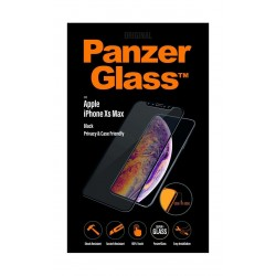 PanzerGlass Apple iPhone XS MAX Casefriendly Privacy - Black
