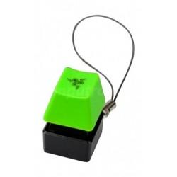 سلسلة مفاتيح بشكل غطاء المفتاح من ريزر - أخضر